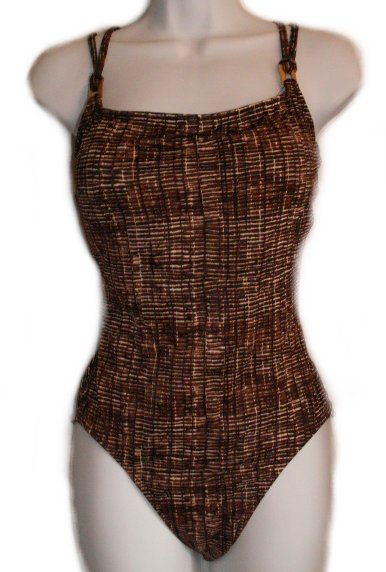 LIZ CLAIBORNE Swimsuit / Bathing Suit / 1 piece - 8 - BRAND NEW!