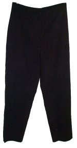 PAUL HARRIS DESIGN Black Dress Pants - Size 12