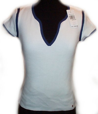 TOMMY HILFIGER Fine Knit Top - Small