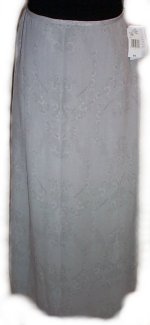 RENA ROWAN 100% Silk Long Maxi Skirt - Size 14