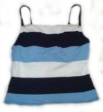 Swimsuit Separate - Tankini TOP - Misses 12