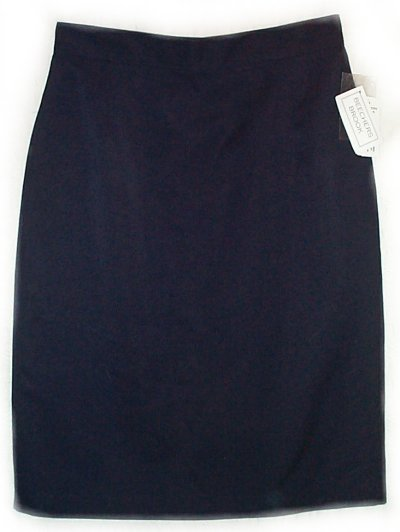 BEECHERS BROOK Lined Straight Skirt - Misses 10, W28""