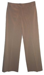 STUDIO M Wide Leg Tan Dress Pants - Misses 10