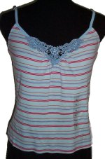 GUESS Jeans Lace V-Front Camisole Top - XL
