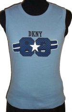DKNY DONNA KARAN NEW YORK Logo Tank Top - Med