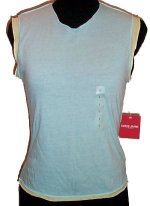 GUESS ? JEANS Sleeveless 2 Color Sleeveless Top - Misses/Jrs L - BRAND NEW!