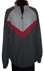 ASHFORD SPORT Lined Suede-Like Sporty Bomber Jacket - Mens XL