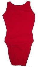NAUTICA Beautiful Red 1 Piece Sporty Swimsuit Bathing Suit - Misses/Jrs 6