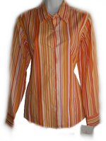 LIZ CLAIBORNE Striped & Check Fitted Blouse - Misses 6