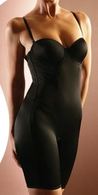 MARILYN MUNROE Bodyshaper Bodysuit - BLACK,MEDIUM